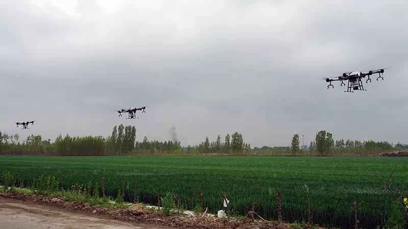 植保无人机发展迅猛 全国农技推广服务中心推出飞防用药培训