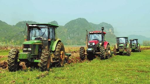 报告:预计到2020年我国农机服务营收将达到8682亿