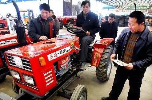 2017年起我国扩大农机购置补贴对象范围