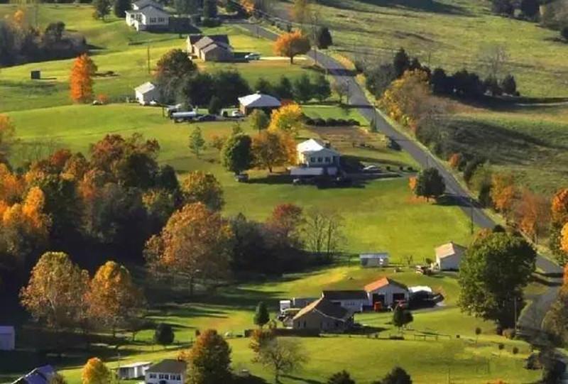 美国农村,我们五十年也未必赶得上(多图)