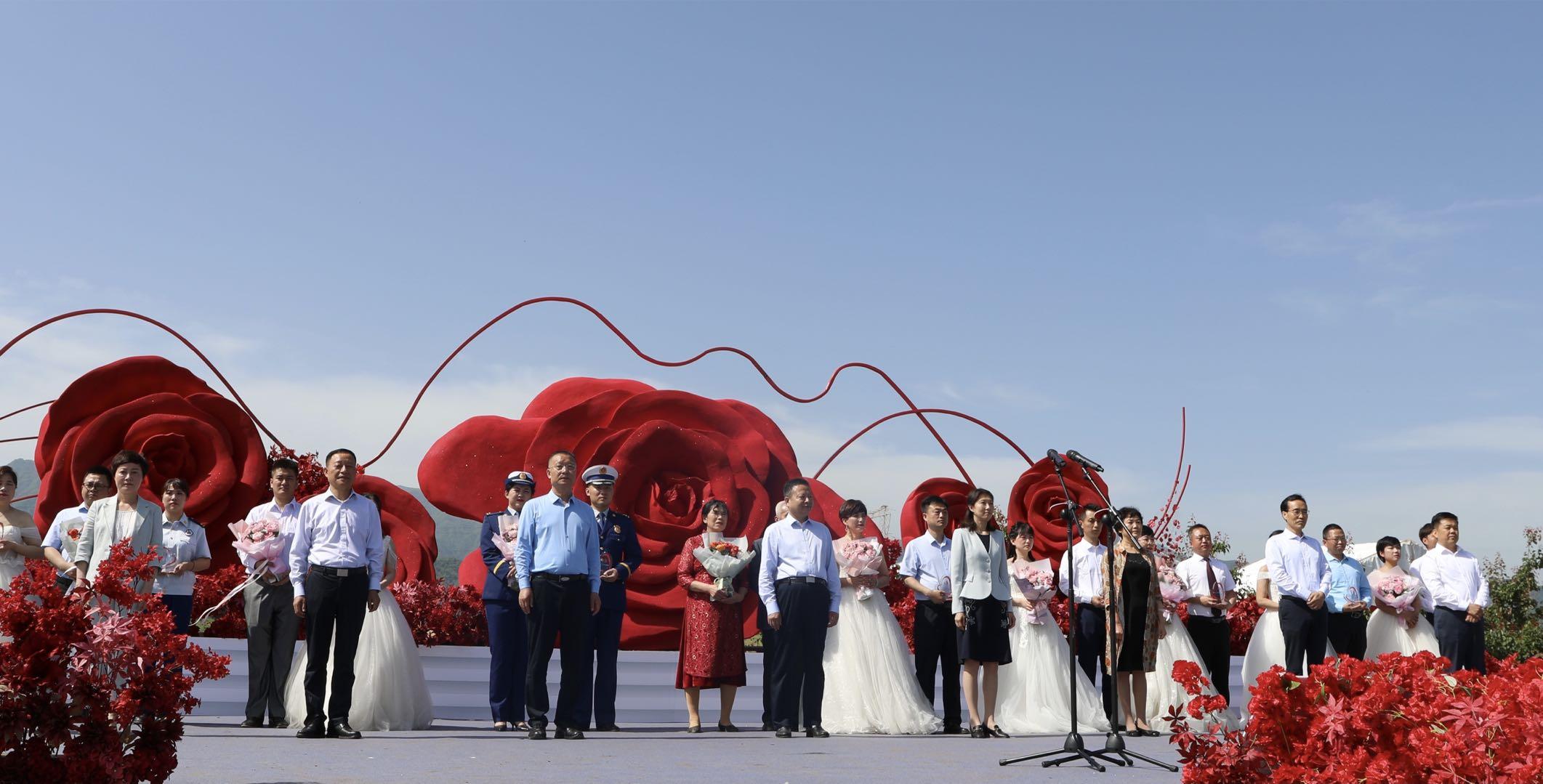 首届秦岭玫瑰文化旅游节开幕:积极探索农旅融合新模式