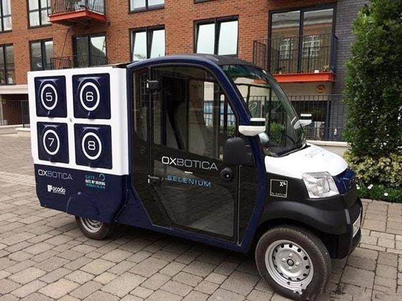 生鲜电商Ocado的无人送货车CargoPod经测试上路,解决最后一公里问题