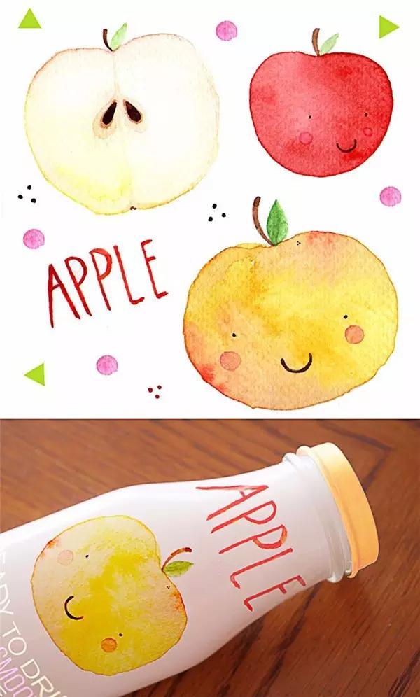 农产品包装设计用这样的插画才有味道