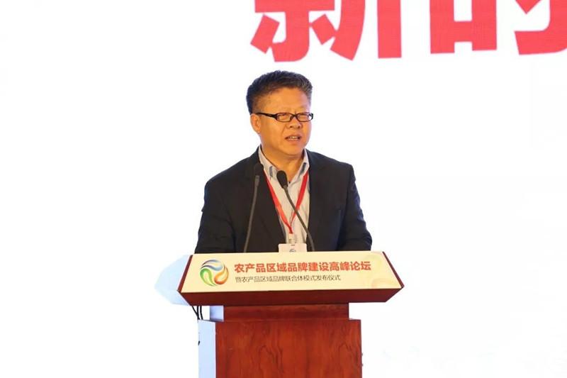 """张国:打造农产品区域公用品牌,要用""""心""""用""""情"""""""